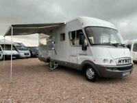 HYMER STAR-LINE 655 | 2005 55 | 6 BERTH FIXED BED MOTORHOME | FULLY LOADED