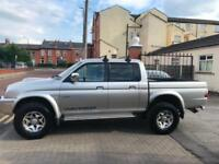 Mitsubishi L200 2.5 TD Ltd Warrior low miles great runner