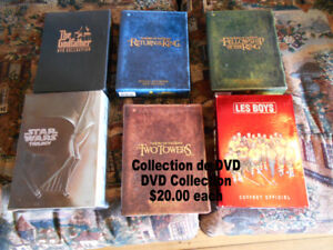 Full of DVD Over 100 Used 1 or 2 times Like new. recu A mon marc