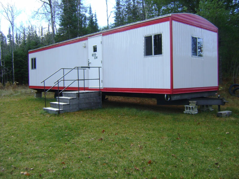 a mobile office trailer or make into a cottage travel