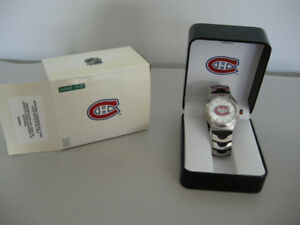 Brand New in Box - Montreal Canadiens NHL Wrist Watch - $20