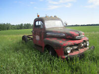 1952 Ford 1 ton Cab and Chassis