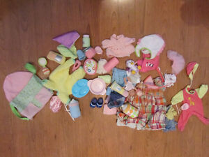 Doll cariers and Doll clothes Stratford Kitchener Area image 2