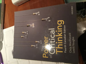 The Power of Critical Thinking - 4th Edition