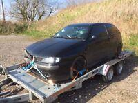Seat Ibiza Mk3 Cupra breaking spares door boot wing engine lights