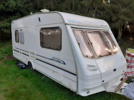 Caravan up for sale with 6 month old awning