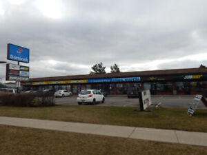 High traffic retail minutes from Centennial and QEW