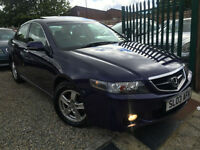 ✿03-Reg Honda Accord 2.0 i VTEC Executive 4dr ✿LOW MILEAGE ✿GREAT SPEC✿