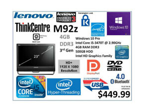 Lenovo Thinkcentre All | Buy or Sell a Laptop or Desktop