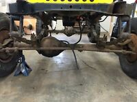 14 bolt Dana 44s 3/4 ton axles