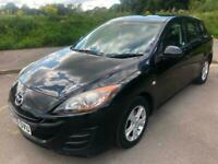 2009 59 Black Mazda 3 1.6 TS 5 Dr Hatch 89K Very Reliable Strong Cheap Car