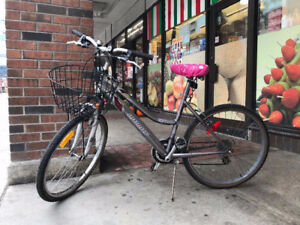 No.6. so convenient infinity bike with front basket