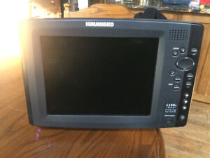 """Hummingbird 10"""" fishfinder and radar combo everything included."""