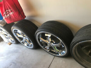 Element rims and tires