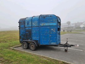 Vintage Rice Horsebox trailer,perfect for catering conversion