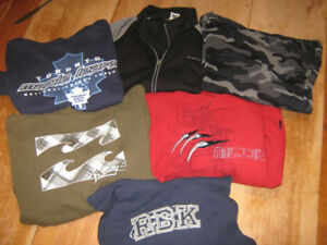 sweatshirts boys size large $2 each