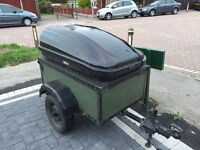 4ft X 3ft camping trailer