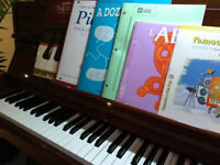 Cours de piano session printemps