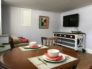 Newly Furnished 2 Bedroom Suite: Central, Convenient,