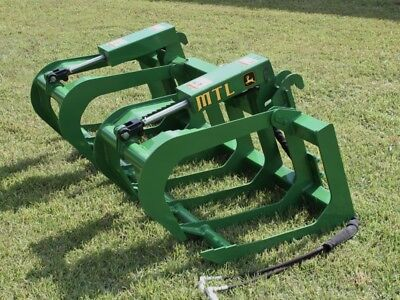 2019 Mtl Attachments 60 Root Grapple Bucket Fits John Deere Tractor Loader