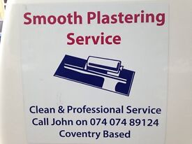 Smooth plastering free queots cheylesmore based