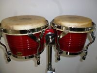 Bongos with Stand - Reduced Price