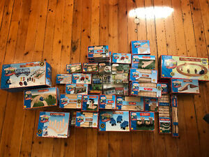 Original Thomas The Tank Engine Wooden Train Sets, w Packaging