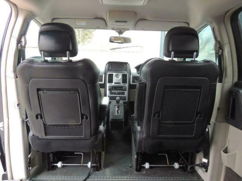 Grand Voyager Drive From or Passenger Upfront Disabled Wheelchair Accessible WAV