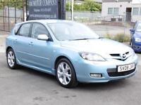 Mazda 3 2.0D Sport, Blue, Hatchback, 2008, FSH, 6 Months AA Warranty