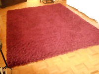 tapis shag de qualité