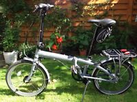 Men's folding bike. Tern Link P7I