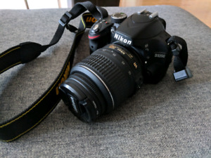 Nikon D3200 w/ 18-55, 70-300, 50mm prime and accessories