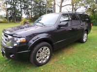 2012 Ford Expedition EL Limited, 5.4LV8, 4X4, NAV, QUAD SEATING