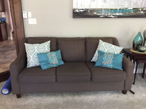 Beautiful Couch and Love Seat made in Canada!!
