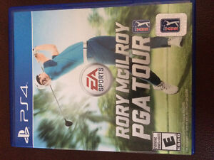 Rory McIlroy PGA tour PS4 game