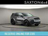 2017 Land Rover Discovery Sport 2.0 TD4 HSE Dynamic Lux Auto 4WD (s/s) 5dr SUV D
