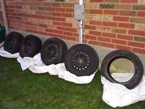 Winter tires on Rims for sale! 205/55/R16