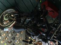 Velo chopper avec motor 80 cc