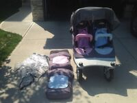 Valco Limited Edition Boy Meets Girl Stroller