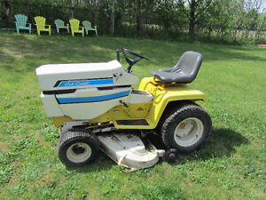 CUB CADET RIDING LAWNMOWER from my fathers estate sale