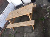 Picnic table bench heavy duty