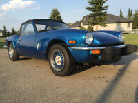 triumph Spitfire in great condition