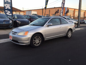 2003 Honda Civic Si Coupe, Automatic, No Accidents