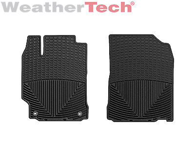 Weathertech All Weather Floor Mats For Toyota Camry   2012 2017   1St Row  Black
