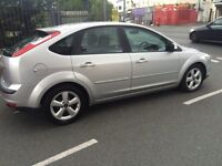 , 07Focus 1.6 Zetec Climate , Silver , Choice of 2 , Service History, 1 yr Mot