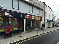 Shop to let in Holyhead town centre @ £60 per week