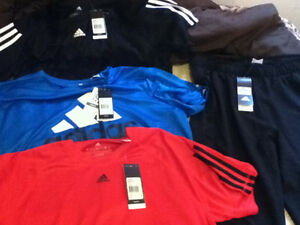 Brand new Adidas clothes tags still on