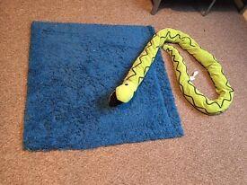 IKEA rug and snake
