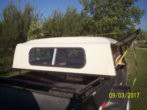 Camper shell for small pick-up