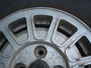 "VOLKSWAGEN/ AUDI 13"" MAG WHEEL 4 BOLT PATTERN Strathcona County Edmonton Area image 1"